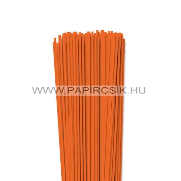 Világos narancs, 3mm-es quilling papírcsík (120db, 49cm)