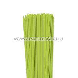 Tavaszi zöld, 3mm-es quilling papírcsík (120db, 49cm)