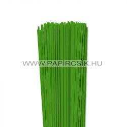 Zöld, 3mm-es quilling papírcsík (120db, 49cm)