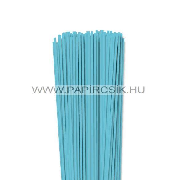Aqua kék, 3mm-es quilling papírcsík (120db, 49cm)