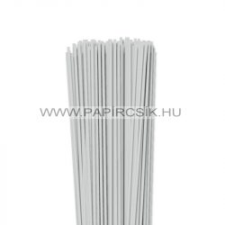 Halványszürke, 3mm-es quilling papírcsík (120db, 49cm)