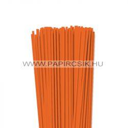 Világos narancs, 4mm-es quilling papírcsík (110db, 49cm)