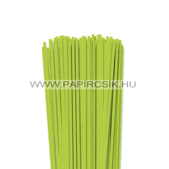 Tavaszi zöld, 4mm-es quilling papírcsík (110db, 49cm)