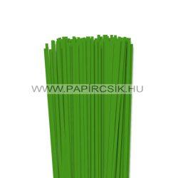 Zöld, 4mm-es quilling papírcsík (110db, 49cm)