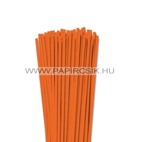 Világos narancs, 5mm-es quilling papírcsík (100db, 49cm)