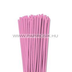 Babarózsaszín, 5mm-es quilling papírcsík (100db, 49cm)