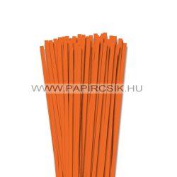 Világos narancs, 6mm-es quilling papírcsík (90db, 49cm)