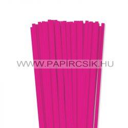 Pink, 7mm-es quilling papírcsík (80db, 49cm)