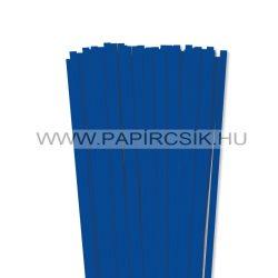 Ultramarin, 7mm-es quilling papírcsík (80db, 49cm)