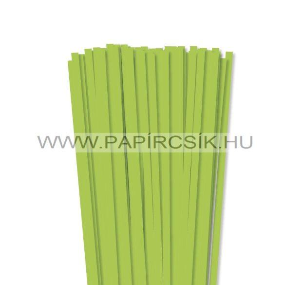Májusizöld, 7mm-es quilling papírcsík (80db, 49cm)