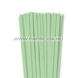 Középzöld, 7mm-es quilling papírcsík (80db, 49cm)
