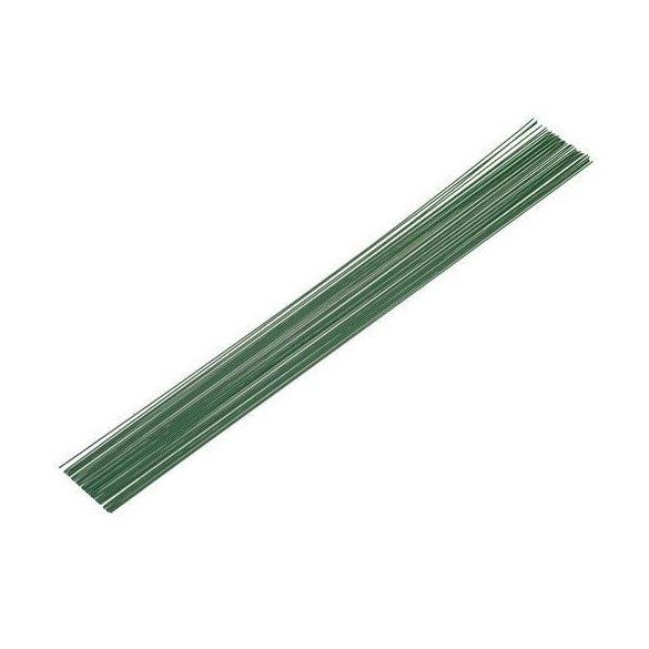 Merevítődrótszál zöld (0.9mm/35cm, 10db)