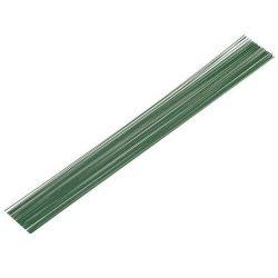 Merevítődrótszál zöld (1.1mm/35cm, 10db)