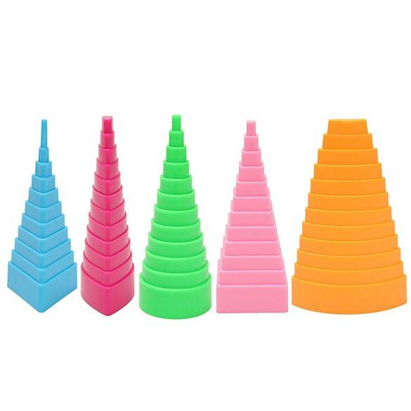 Quilling formázó szerszám, 5 különböző forma
