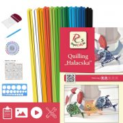 Fische - Quilling Muster (140 Stück Streifen, Beschreibung, Werkzeuge)