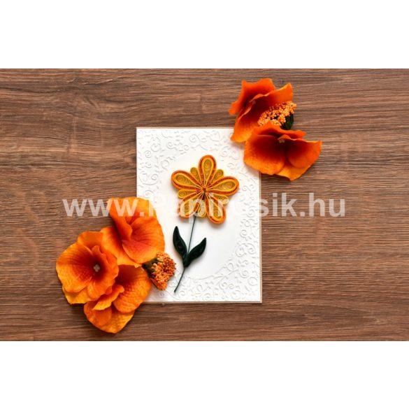 Blumen 2. - Quilling Muster (220 Stück Streifen, Beschreibung, Werkzeuge)