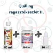 Quilling ragasztókészlet II.