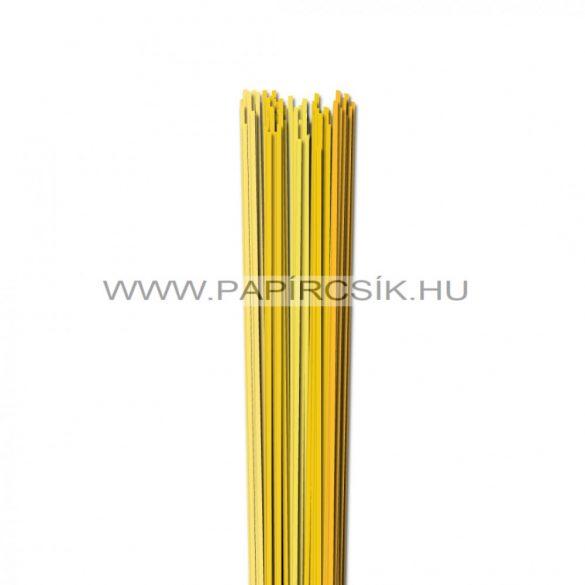 Sárga árnyalatok, 2mm-es quilling papírcsík (5x20, 49cm)