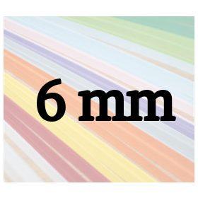 6mm-es quilling papírcsíkok