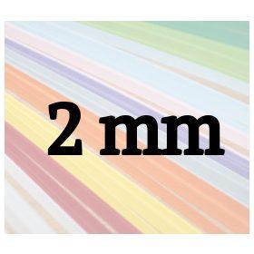 2mm-es quilling papírcsíkok