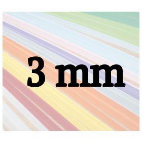 3mm-es quilling papírcsíkok